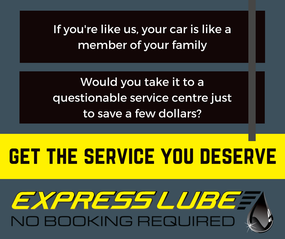 Get the service you deserve - Express Lube