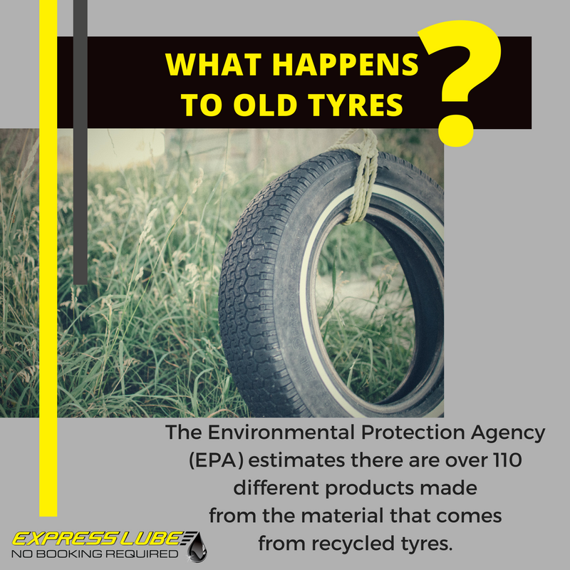 What Happens to Old Tyres?