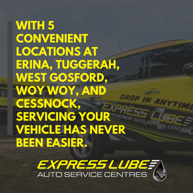 With 5 convenient locations, getting your car serviced has never been easier