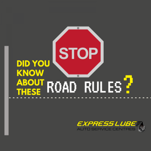 Did you know about these road rules?