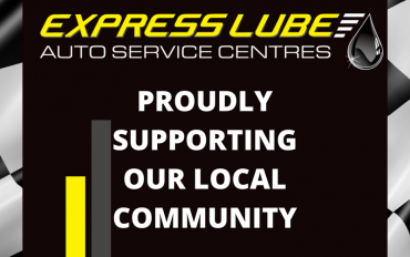 Express Lube, Proudly Supporting our Local Community