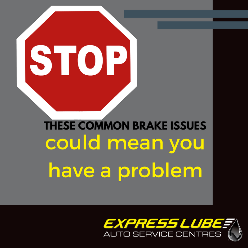 STOP, these common brake issues could mean you have a problem.