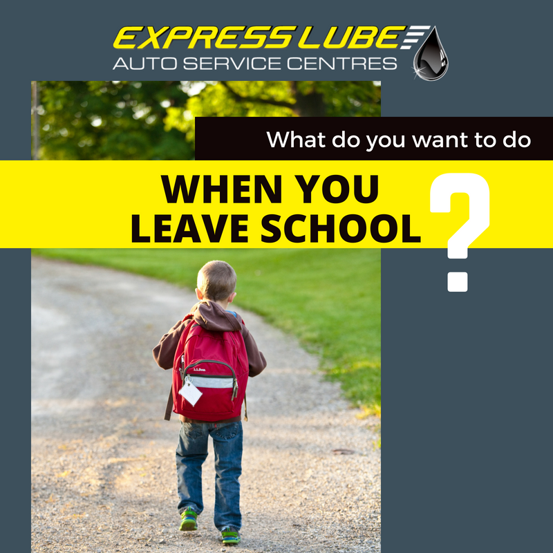 What do you want to do when you leave school?