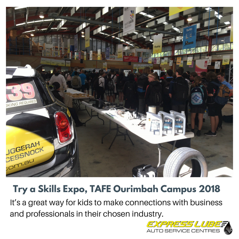 It's a great way for kids to make connections with business and professionals in their chosen industry.