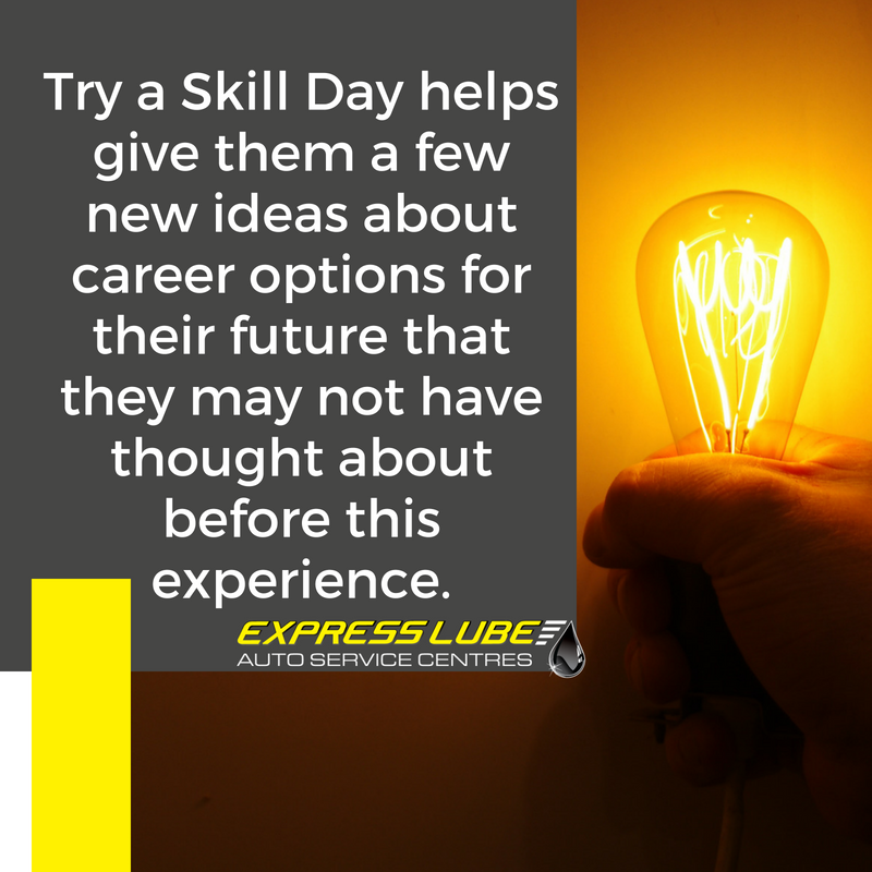 A program like this helps give them a few new ideas about career options for their future that they may not have thought about before this experience.