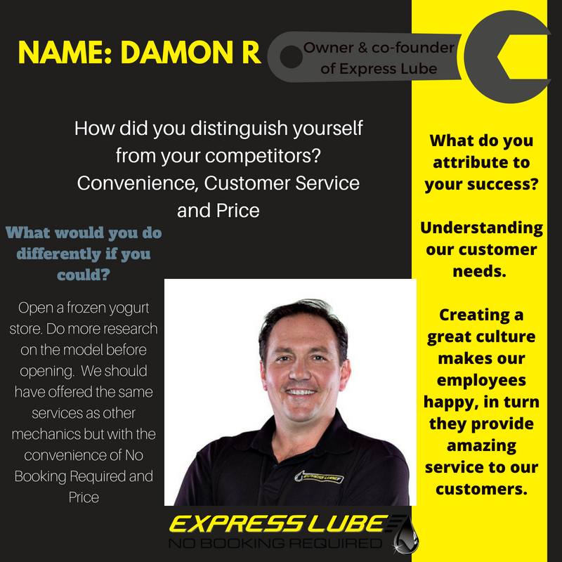 Damon Express Lube