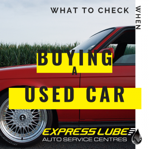 What to check when buying a used car