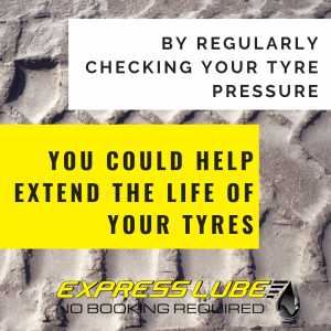 By regularly checking your tyre pressure you could help extend the life of your tyres