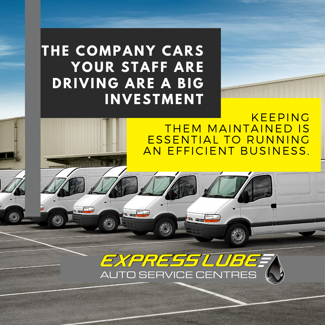 Your company cars are a big investment, let Express Lube look after them