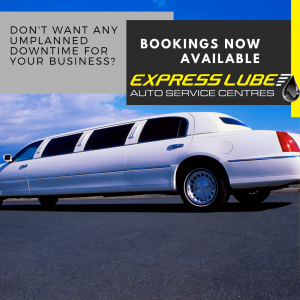 Don't want any unplanned down time for your company cars? Contact Express Lube