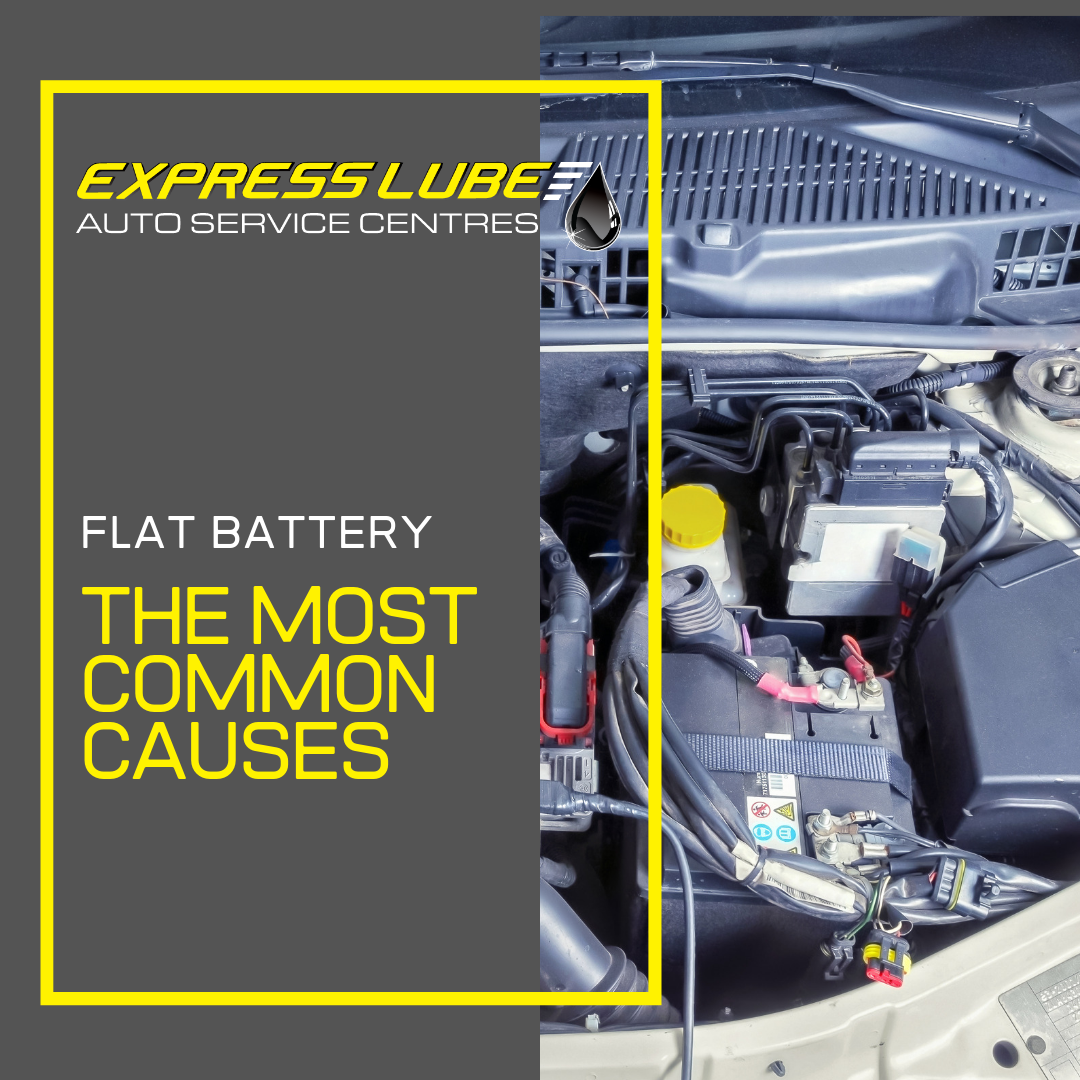 Flat battery - The most common causes
