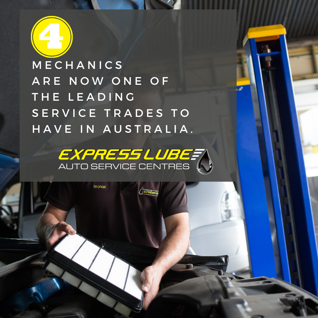 Mechanics are now one of the leading service trades to have in Australia.