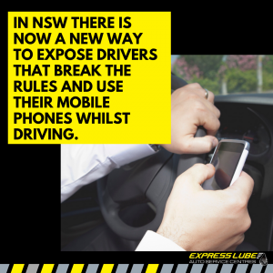 In NSW there is now a new way to expose drivers that break the rules and use their mobile phones whilst driving.
