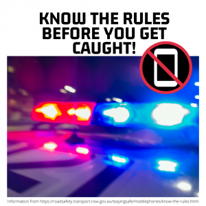 Know the rules before you get caught!