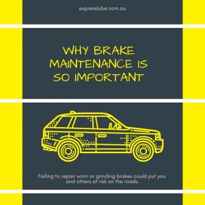 Why Brake Maintenance is so Important