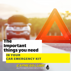 The Important things you need in your car emergency kit
