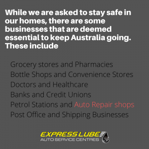 While we are asked to stay safe in our homes, there are some businesses that are deemed essential to keep Australia going.