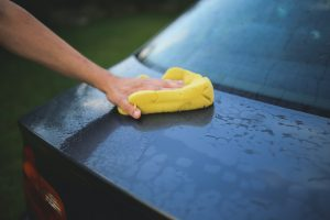 Car maintenance tips - clean the outside to avoid rust and grime buildup.
