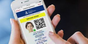 digital driver's licences are aviallable in NSW, SA and QLD.