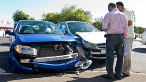 what to do if you have a car accident australia - exchange details with other drivers