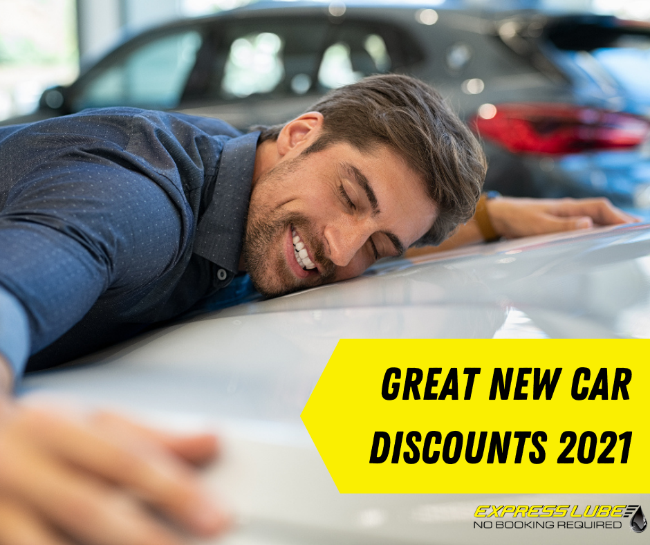 Discount new cars - Express Lube Oct 21